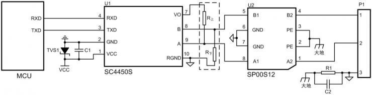 图10低结电容保护电路