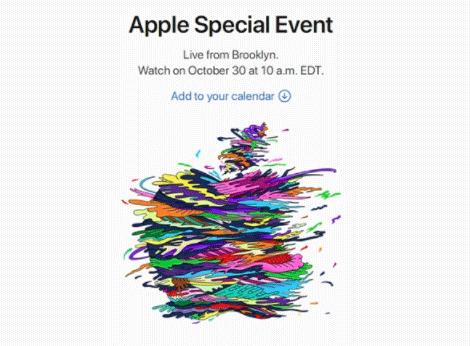 10月30日,苹果新品发布会再开!这次主角是谁?