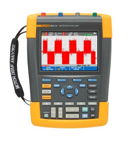 有效简化复杂的电机驱动故障诊断  全新电机驱动分析仪 Fluke MDA-510 和 MDA-550