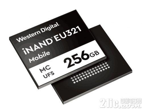大容量存储需求强劲!西部数据发布96层3D NAND UFS 2.1嵌入式存储