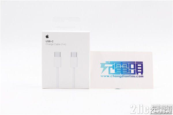 苹果新款USB-C to USB-C充电线缆评测:支持100W快充、USB2.0、售价149元