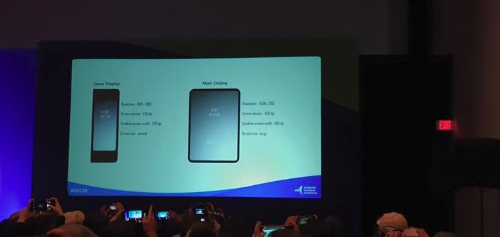 三星可折叠屏幕详解:平板手机两种显示屏,两种不同的屏幕分辨率