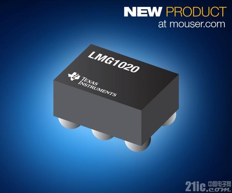 贸泽开售 Texas Instruments LMG1020低侧GaN驱动器  为高速LiDAR和TOF应用提供理想选择