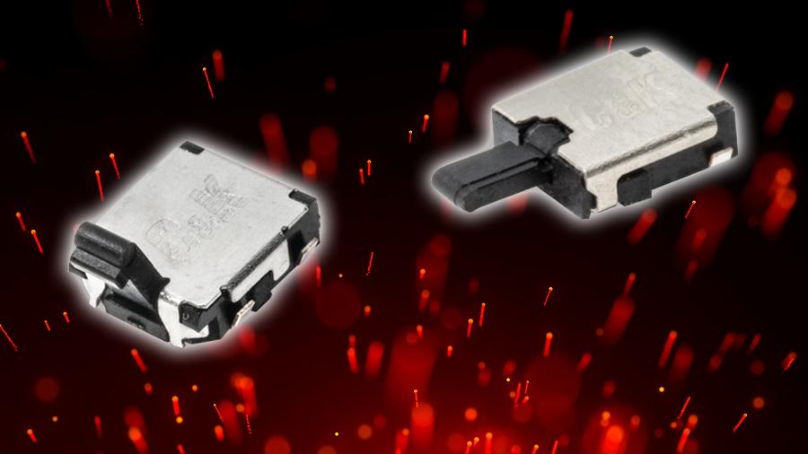 C&K 推出适用于医疗设备、安全控制和消费电子产品的世界上最小侧面起动检测开关