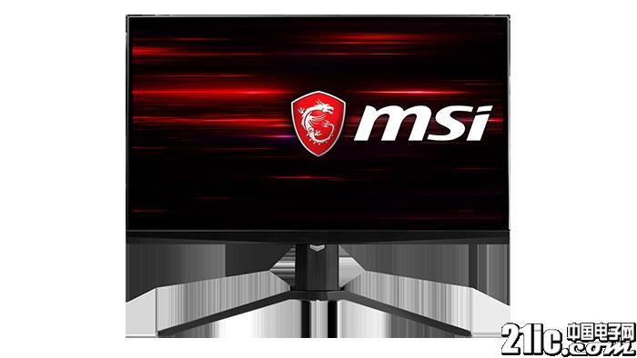 微星推出NXG251R显示器:刷新率高达240Hz,边框超窄!
