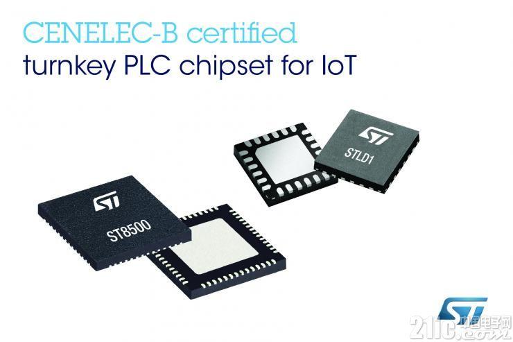 打破应用局限,意法半导体的ST8500系统芯片集成G3-PLC CENELEC B认证协议栈