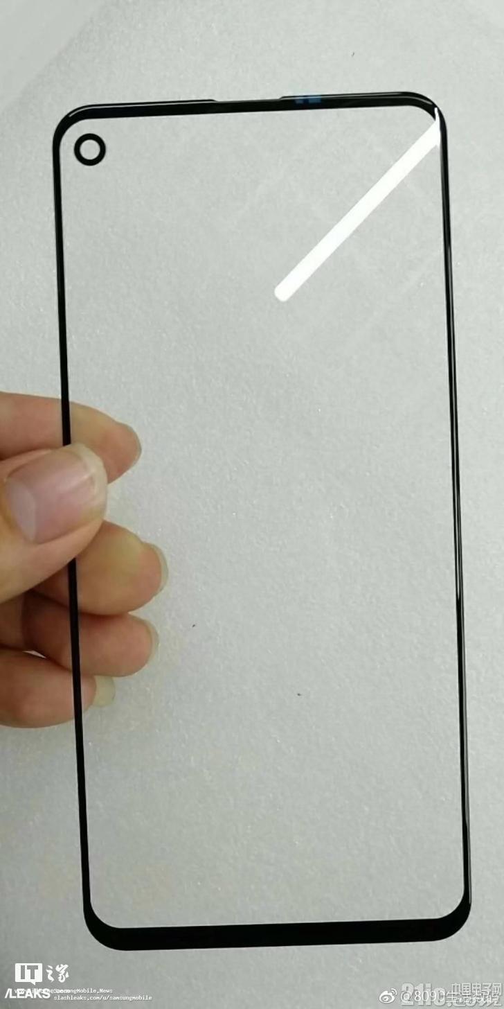 三星Galaxy A8s前面板谍照暴光,这样的全面屏好看吗?