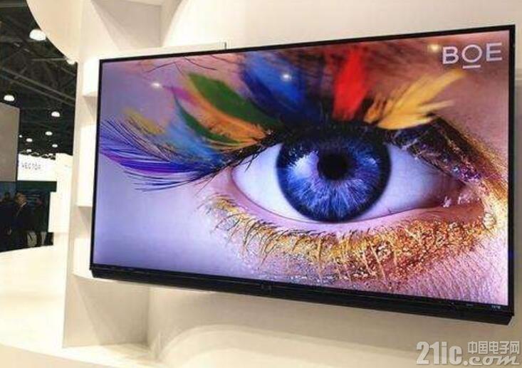韩国面板厂真的慌了!京东方成功研发出大型OLED面板