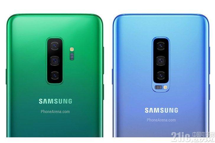 三星Galaxy S10/Galaxy F配色曝光:S10提供白,黑,黄和绿四种配色