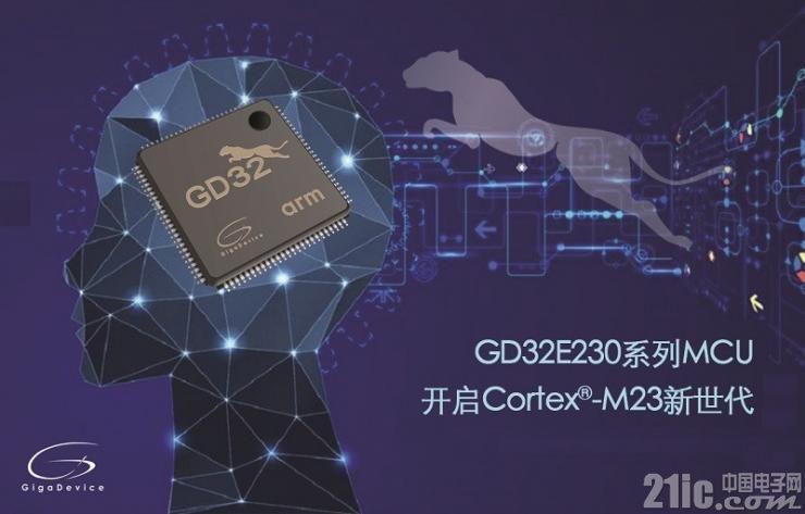 兆易创新GD32E230系列MCU低至20美分,开启Cortex®-M23内核新世代