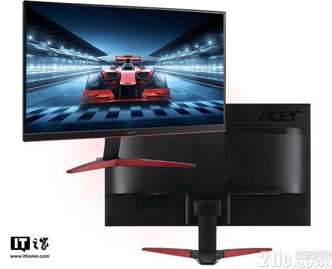 Acer Japan推出一系列游戏显示器,响应时间低于1毫秒