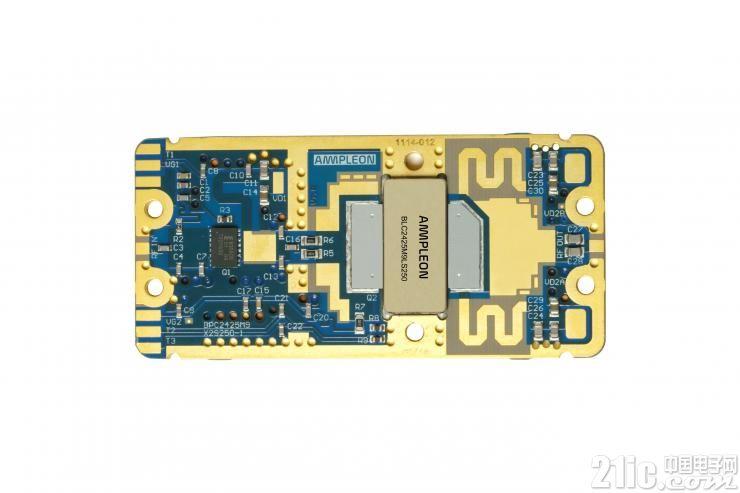 Ampleon推出小尺寸双级250W LDMOS射频功率模块,简化集成的复杂性
