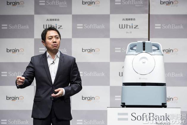 软银推出新型机器人Whiz,它的拿手技能是扫地!