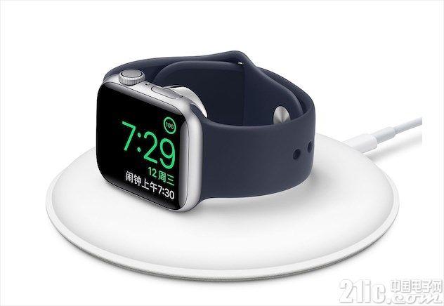 苹果发布新配件,新版Apple Watch磁力充电基座已上线!