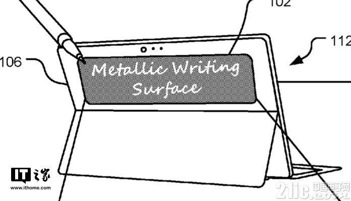 为Surface新增了一块副屏,微软新专利曝光!