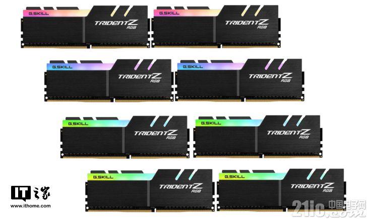新品不断!芝奇再度推出两款4000MHz级别的DDR4内存套装