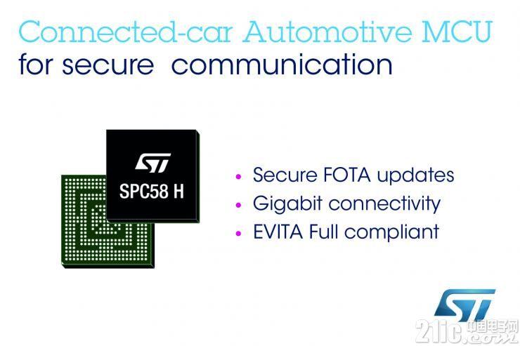 让网联汽车变得更安全!ST推出最新高性能多接口多核汽车MCU