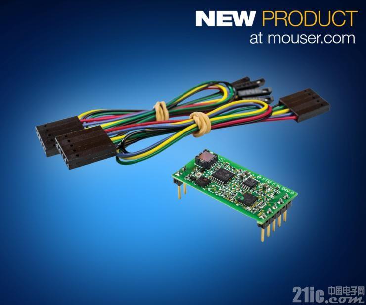 TE Connectivity AmbiMate MS4传感器模块开发套件在贸泽开售