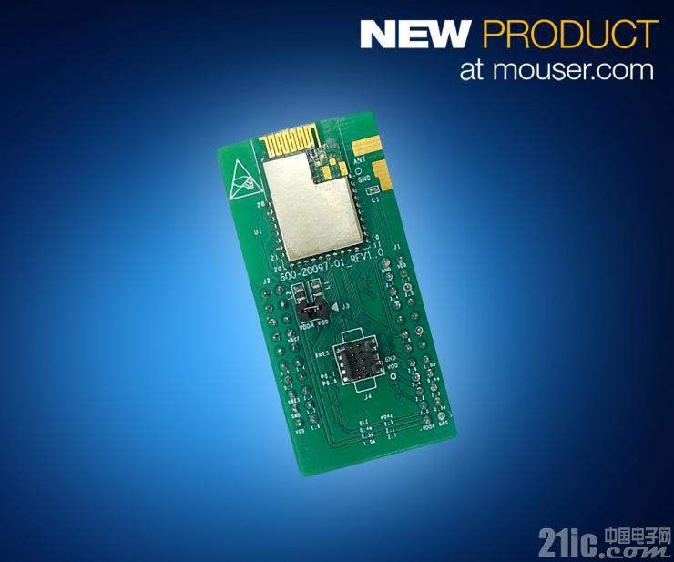 贸泽开售Cypress Semiconductor EZ-BLE和EZ-BT WICED蓝牙模块  让物联网设计更轻松