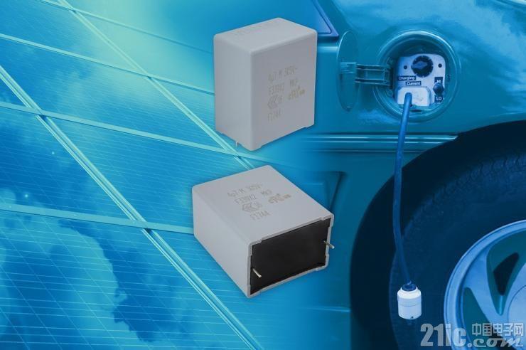 寿命极长,Vishay 推出新款汽车级EMI抑制薄膜电容器