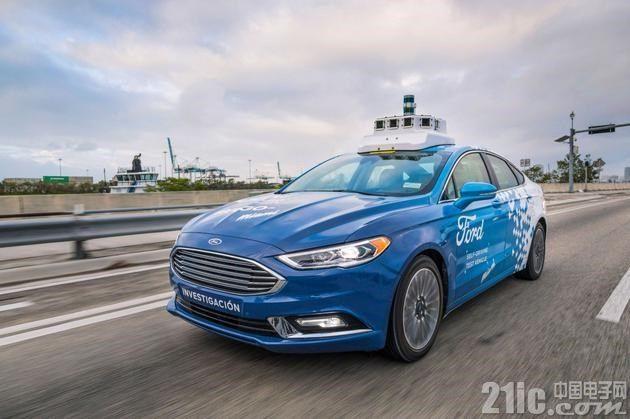 福特将推无人车队,价格只有现今共享出行服务的一半!