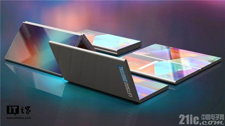 三星可折叠手机又有新型态?分隔屏幕,完全贴合!