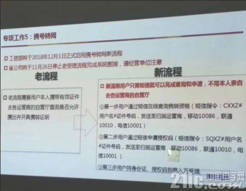中国也能携号转网啦!流程是这样的!