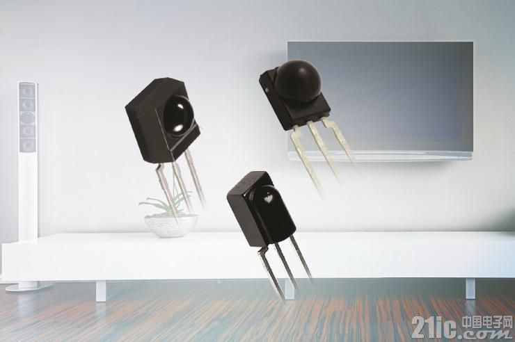 Vishay推出采用Minimold、Mold和Minicast封装的微型红外接收器,提高了灵敏度、噪声抑制能力和脉宽精度