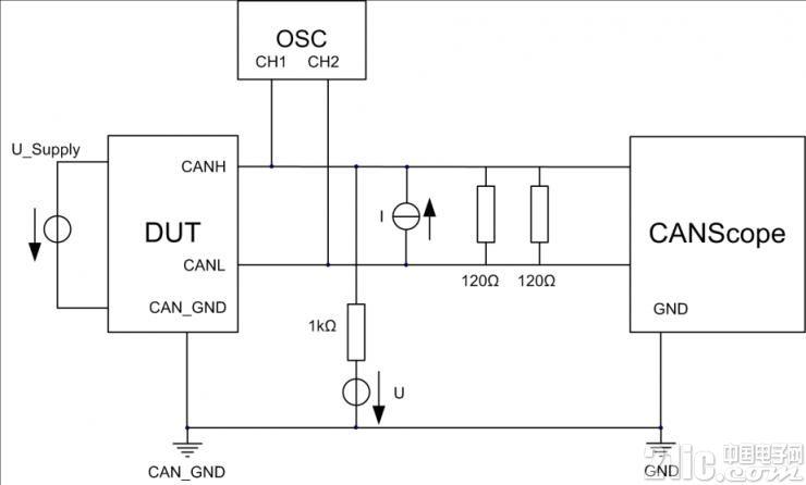 CAN一致性测试之输入电压阈值测试