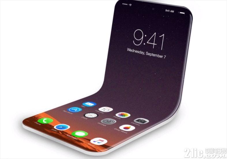 苹果也入局可折叠手机?相关专利曝光