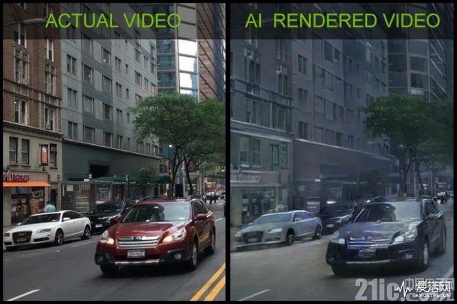 AI抢绘图者的工作?英伟达首次实现AI绘制驾车游戏demo