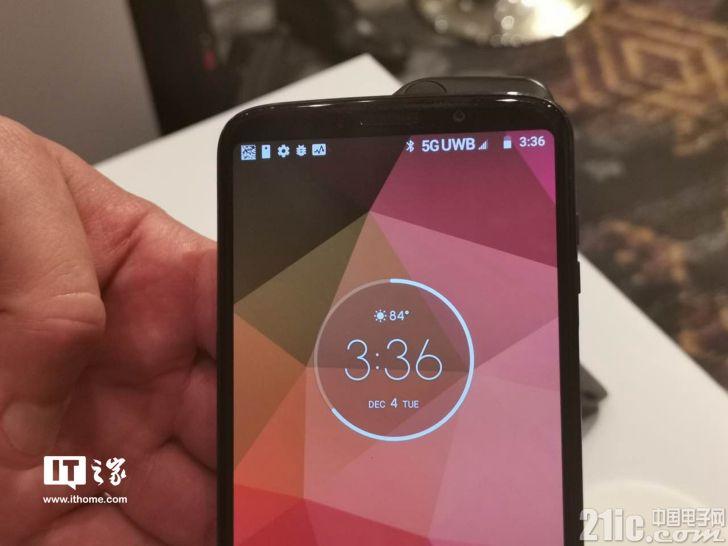 5G模块加持,Moto Z3手机下载速率达3.5Gbps