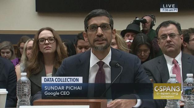 听证会谷歌CEO被追问中国版搜索引擎进度:超100人参与该项目