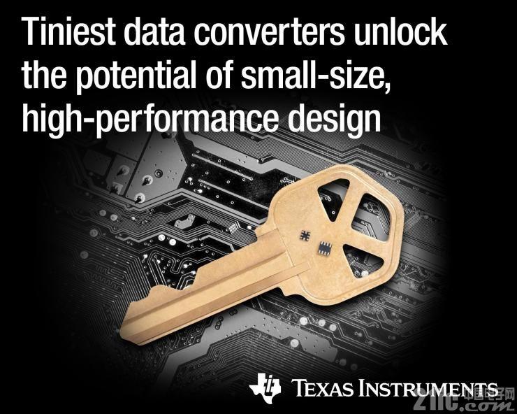 德州仪器推出四种微型高精度数据转换器