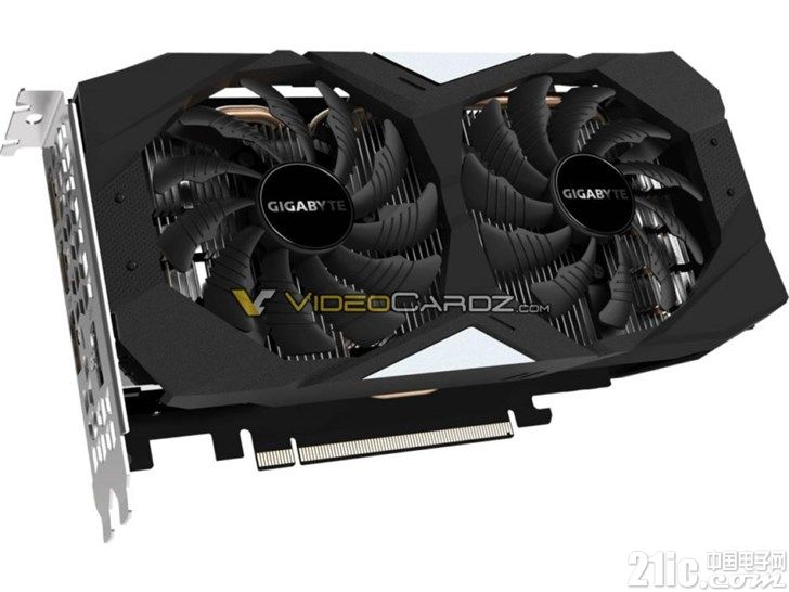 技嘉GeForce RTX 2060显卡曝光:1920 CUDA内核,6GB GDDR6显存