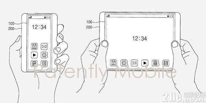 可折叠不算什么!三星公布可拉伸的屏幕专利!