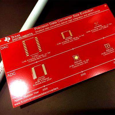 愈小愈有料!TI发布四款高度集成数据转换器产品