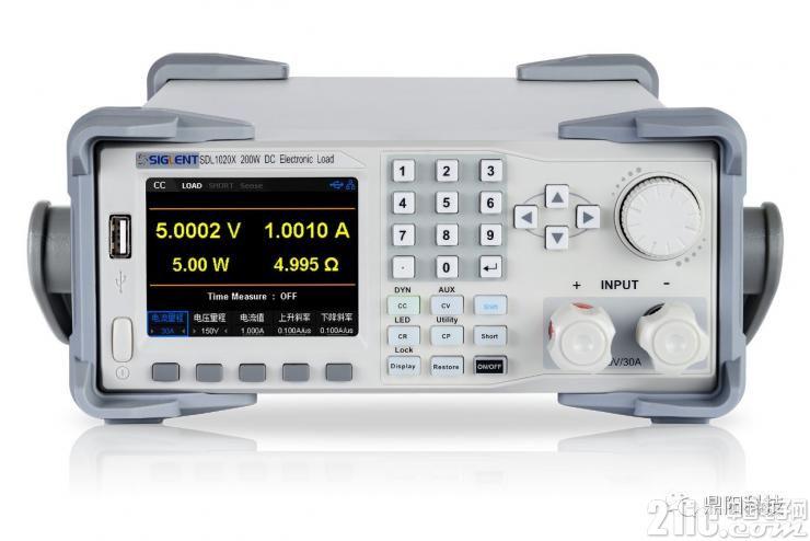 鼎阳科技发布SDL1000X系列可编程直流电子负载