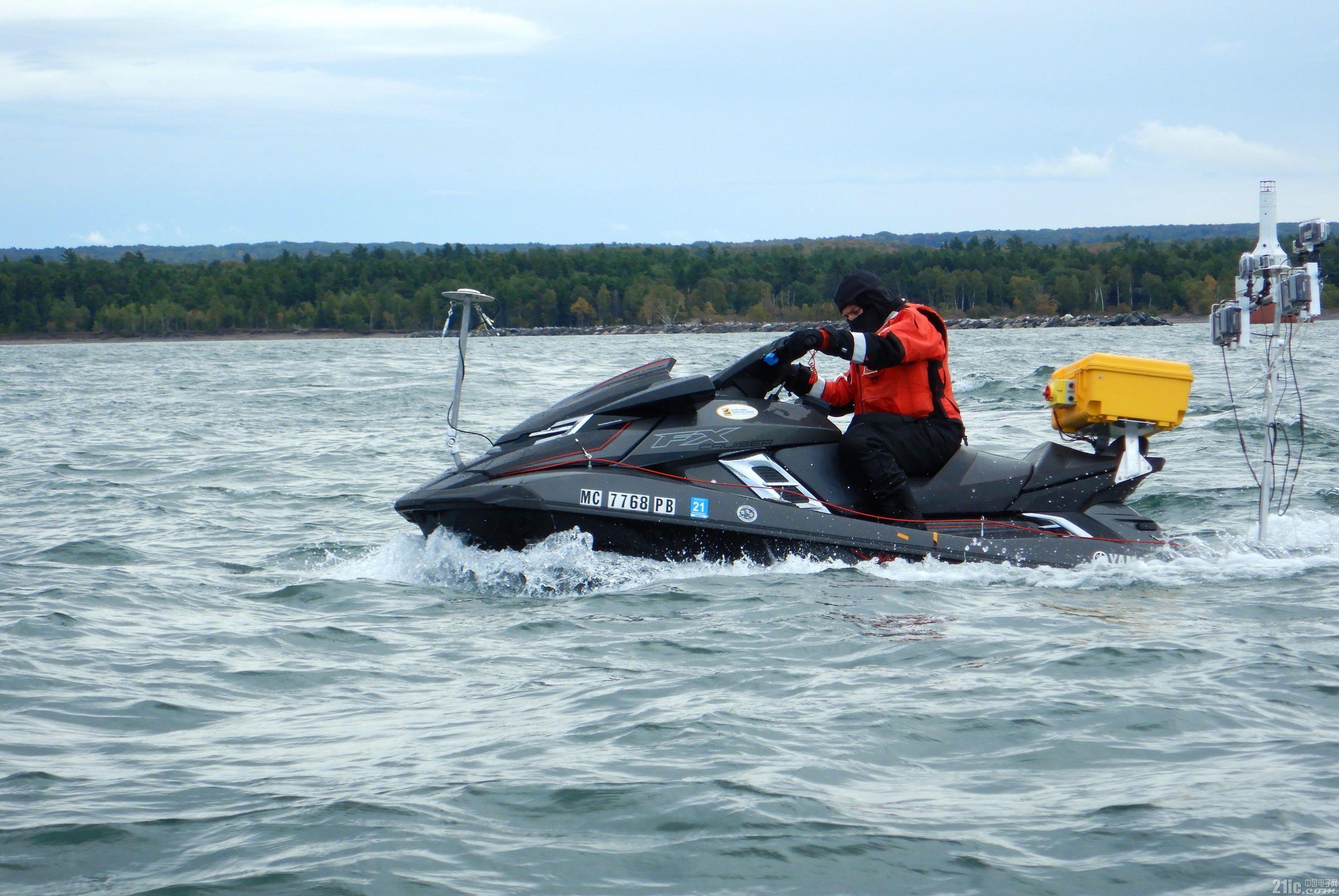 自动驾驶不仅可以用于汽车,还可以用于海上的船!