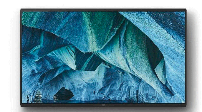 投影仪级别尺寸!索尼8K HDR电视Master系列亮相CES 2019!