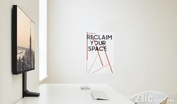 三星发布Space Monitor显示器:三面无边框,像一件艺术作品!