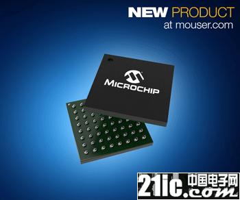 贸泽备货Microchip SAM R34 SiP  边缘设备的低功耗LoRa解决方案