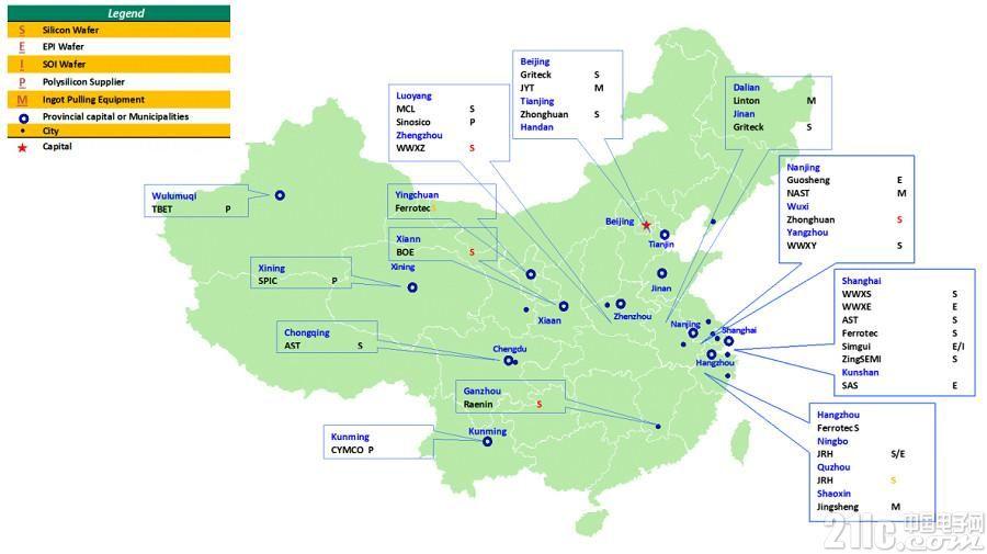 中国晶圆产能成长速度远超其他地区,位居全球第二!