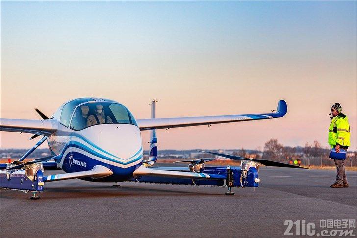 波音电动飞行出租车已完成首次飞行