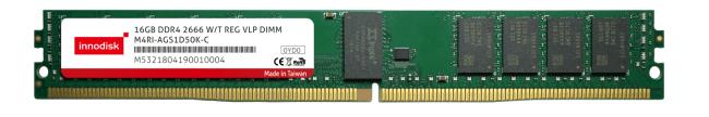 宜鼎推出2666宽温强固型超矮版内存 针对服务器存储高度优化,加速助力AIoT