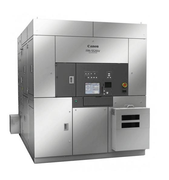 佳能发布i线光刻机FPA-5520iV HR Option