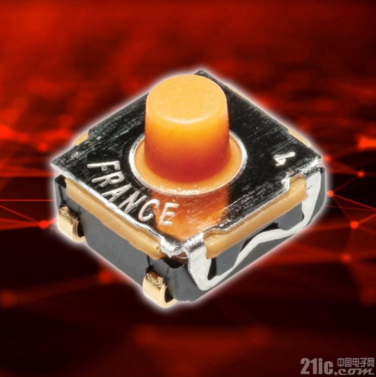 C&K推出可应用于汽车、工业和医疗领域的紧凑型双回路开关