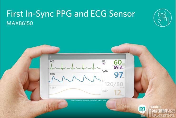 重磅!Maxim发布业界首款适用于移动设备的PPG和ECG生物传感器模块