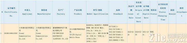 小米9全配置曝光:骁龙855、屏下指纹,支持32W快充!