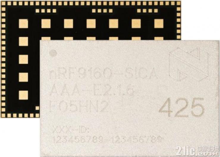 可轻易接入物联网的移动无线电器件:来自Nordic的nRF9160 SiP